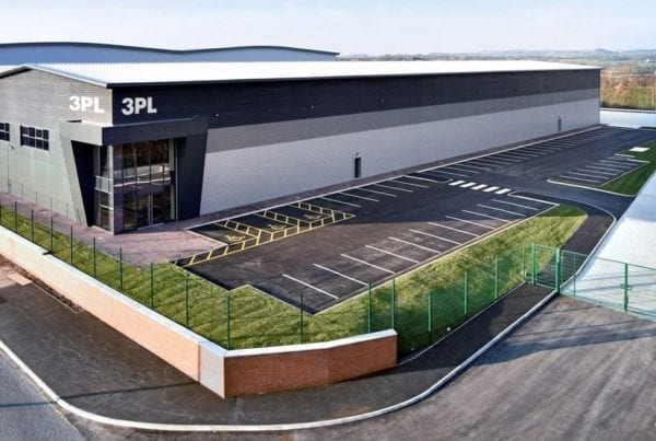 3PL Retail Distribution Centre Wigan