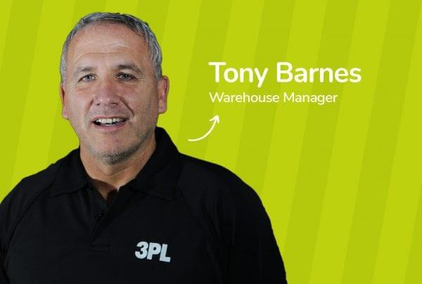 3PL Linkedin Post - Tony Barnes